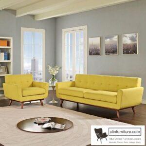 Kursi Tamu Sofa Retro Minimalis