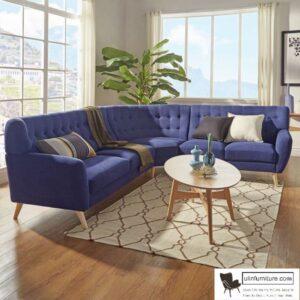 Kursi Tamu Sudut Sofa Modern