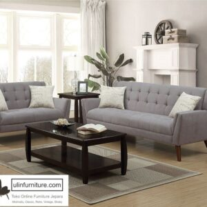 Set Kursi Tamu Sofa Retro Shabby