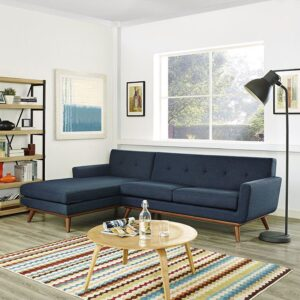Set Kursi Sudut Sofa Retro