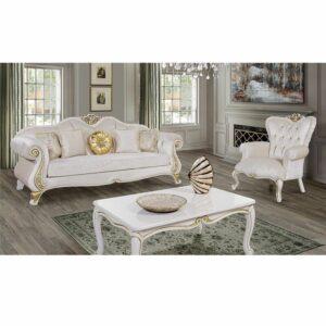 Kursi Tamu Sofa Mewah Klasik Ukiran