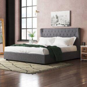 Tempat Tidur Kayu Jati Modern Bogor