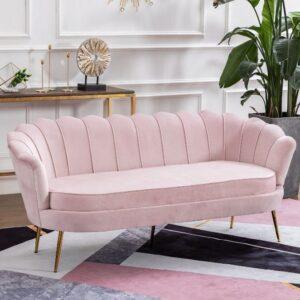 Kursi Sofa Kerang Kekinian 2 Dudukan