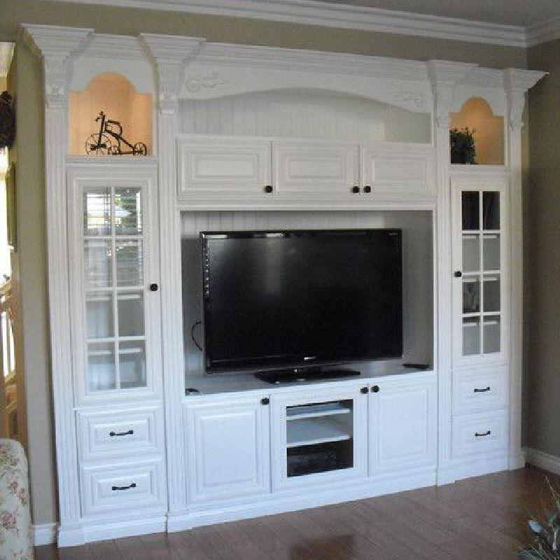 Set Cabinet TV Minimalis Modern