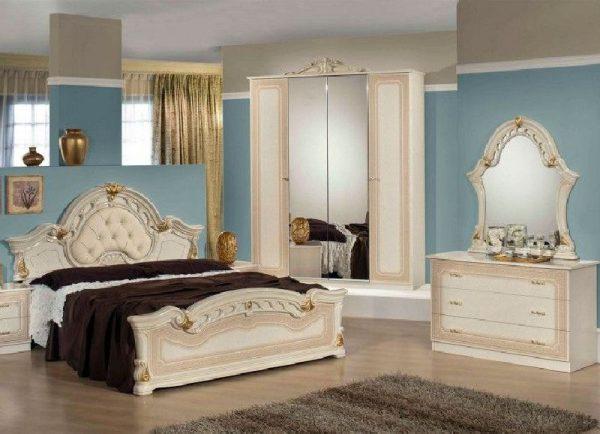 Set Tempat Tidur Mewah Modern Bonanza